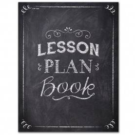Newest Teacher Lesson Plan Book For Sale Creative Teaching Press Chalk It Up! Lesson Plan Book, Black/whit