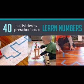 Regular 2 Year Old Teaching Activities 40 Awesome Number Activities For Preschoo