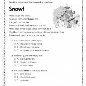 Regular 2Nd Grade Lesson Plans Christmas Second Grade Sheets For Christmas €? Fun For Chris