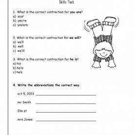 Regular 2Nd Grade Lesson Plans Contractions Wonders Second Grade Unit Three Week One Print