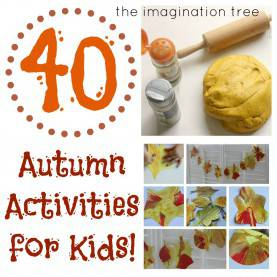Regular Autumn Topic Ideas Autumn Play Collection: 40 Fabulous Ideas! - The Imagination
