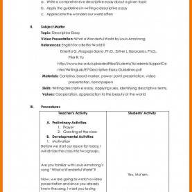 Regular English Lesson Plan Detailed 10+ Writing The College Essay Lesson Plans | Mbta On