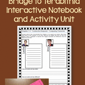 Regular Guided Reading Lesson Plan Bridge To Terabithia Bridge To Terabithia [Katherine Paterson] Digital + Printable Boo