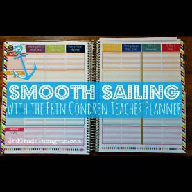 Regular High School Teacher Planner Smooth Sailing Back To School Tips & Giveaways {Erin Condre