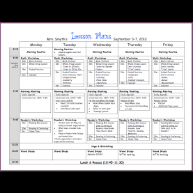 Regular Kindergarten Unit Plan Template Kindergarten Lesson Plan Template | Designproposalexample