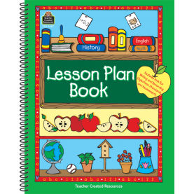 Regular Lesson Plan Book Lesson Plan Book - Tcr3627 | Teacher Created Resou