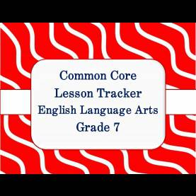 Regular Lesson Plan Format For Grade 7 English Common Core Math And Ela Lesson Plan Organizers For The Middl