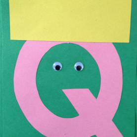 Regular Preschool Craft Letter Q Lesson Plans Letter Q Crafts - Preschool Crafts | Alphabet Letter Q Craft