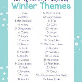 Regular Preschool Lesson Plans On Winter 35+ Best Winter Preschool Themes And Lesson Plans - Natural Beac