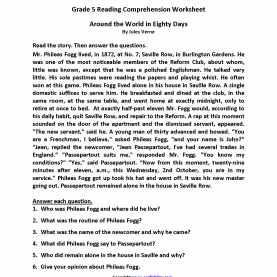 Regular Reading Lessons For 5Th Grade Reading Worksheets | Fifth Grade Reading Worksh