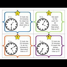 Regular Telling Time Lesson Plans 3Rd Grade Math Menu ~ 3.M.3 Elapsed Time - Lessons - Tes T