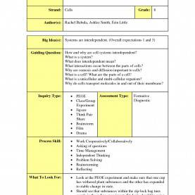 Simple 5E Lesson Plan In Urdu Science Lesson Plan Template Science Admission Tickets Templat