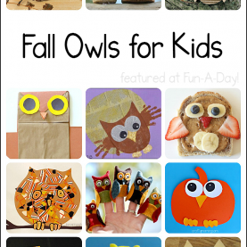 Simple Fall Activities For Children Fall Owl Crafts And Activities For