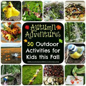 Simple Fall Group Activities For Kids Sun Hats & Wellie Boots: 50 Outdoor Activities For Kids Thi