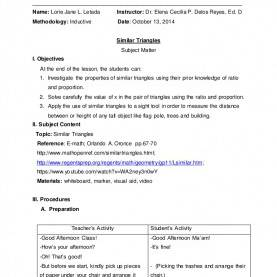 Simple How To Make A Detailed Lesson Plan In English Business Emergency Plan Template Professional Temp