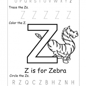Simple Kindergarten Lesson Plan Letter Z Letter Z Worksheets For Kindergarten | Activity She