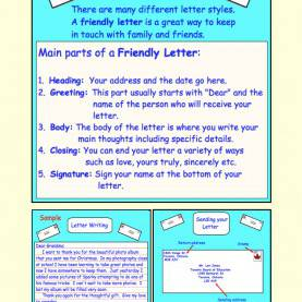 Simple Lesson Plan For Teaching Writing Pdf Letter Writing (Friendly/business) Pdf   Writing Lessons, Pdf An