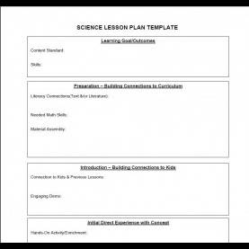 Simple Lesson Plan Template Images Science Lesson Plan Template | Business Temp