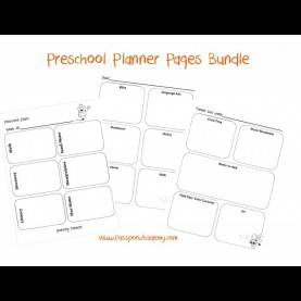 Simple Lesson Plans For Preschool Homeschool Preschool Lesson Planner Pages Via Passportacademy.Co