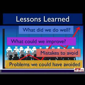 Simple Lessons Learned What Went Well Lessons Learned Project Manage