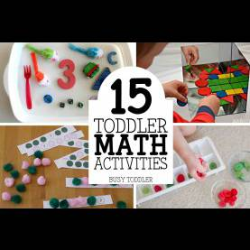 Simple Mathematics Activities For Toddlers 15 Toddler Math Activities - Busy Tod