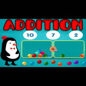 Simple Preschool Interactive Games Addition With Manipulatives, Basic Math: Counting 1 - 15, Learnin