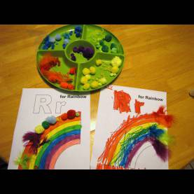 Simple Preschool Lesson Plans Rainbows Preschool Lesson Plan: R Is For Rainbows €? Nurture