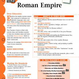 Simple Rome Lesson Plans Roman Empire - Kids Disc