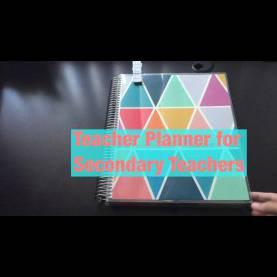 Simple Secondary School Teacher Planner Erin Condren Teacher Planner For Secondary Teachers - You