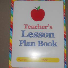 Simple Teacher Lesson Plan Book Target Homeschooling Mommybot: The Cheap Lesson Plan Book