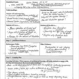Simple Understanding By Design Lesson Plan Ubd Lesson Plan Template - The Free Website Templ