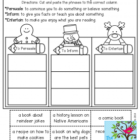 Special 2Nd Grade Lesson Plan On Author'S Purpose Author'S Purpose And Tons Of Other Great Resources! | Readin