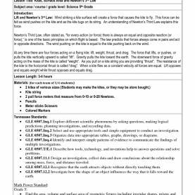 Special 3Rd Grade Lesson Plans Science 5 E Lesson Plan Template | Templa