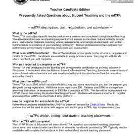Special Edtpa Study Guide Teacher Candidate Edition €? Edtpa Description, Cost, Registratio