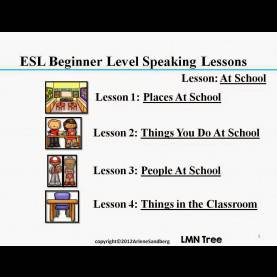 Special Esl Speaking Lesson Plans Beginners Lmn Tree: Everything Esl: Resources For The Beginner Esl Stud