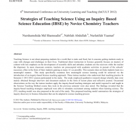 Special Inquiry Approach Lesson Plan In Science Strategies Of Teaching Science Using An Inquiry Based Scienc