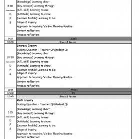 Special Inquiry Lesson Plan Template Pyp Day Plan Template €? Making Good Hu