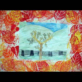 Special Leaf Printing Lesson Plan The Smartteacher Resource: Fall Leaf Pr