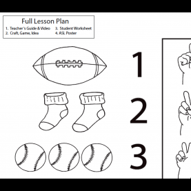 Special Lesson Plan For Teaching Numbers 1-10 Lesson Plan- Numbers 1-5 - Asl Teaching Resou