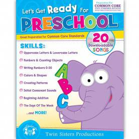 Special Preschool Activity Books For Teachers Lets Get Ready For Preschool Activity Book - Twin4041 | Pb
