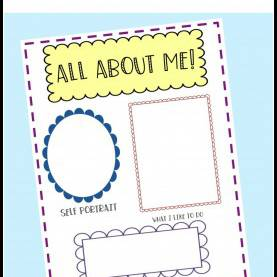 Special Preschool Theme Activities All About Me Preschool T