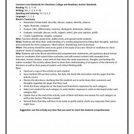 Special Reading Lesson Plans On Comprehension Teach It Write : June