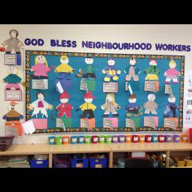 Special Show And Tell Ideas For Community Helpers Community Helpers Bulletin Board | Bulletin Board | Pinteres