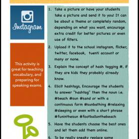 Special Teaching English Online Lesson Plans Social Media In The Classroom - Teaching English Using Instagra