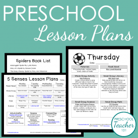Special Teaching Math To Preschoolers Lesson Plans Preschool Lesson Plan Template For Weekly Planning - Preschoo