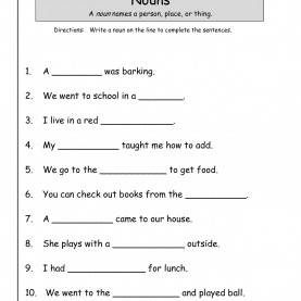 Top 1St Grade Lesson Plans Nouns Wonders First Grade Unit Two Week One Print