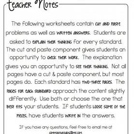 Top 3Rd Grade Activities Cut And Paste Math Activities For Third Grade €? What I Have Lea