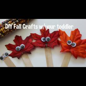 Top Autumn Crafts For Kindergarten Diy Fall Crafts - Toddler Friendly! - You