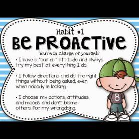 Top Be Proactive Lesson Plans Tips And Resources For The Leader In Me | Free, School And Happy