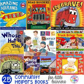 Top Community Helper Books Community Helpers Books For Little Learners - Pocket Of Presc